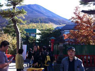 富士山と細見