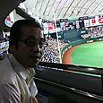 東京ドーム特別室にて