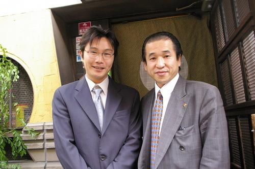 元ボクシング世界チャンピオン・畑山氏と